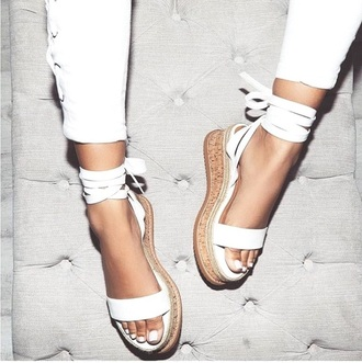 shoes white espadrilles espadrilles wedges platform espadrilles summer