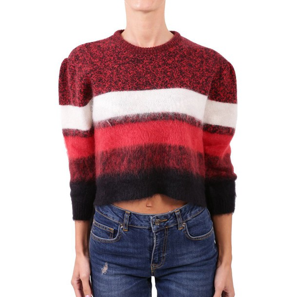 N.21 sweater mohair red