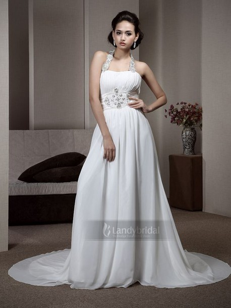 dress エンパイアドレス ホルター