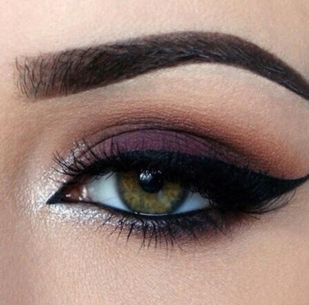 make-up purple