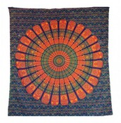 home accessory,mandala tapestry,wall hanging,tapestry,wall tapestry,home decor,colorful tapestry,print,bedding,bedspreads,bedroom,home accessories pillow v good for health,mandala design,traditional