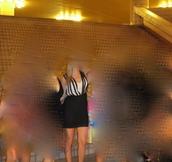 dress,black,white,multiple,straps,black dress,white dress
