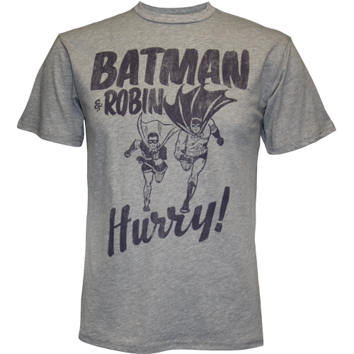 Batman & robin hurry t