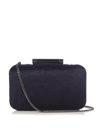 clutch navy bag