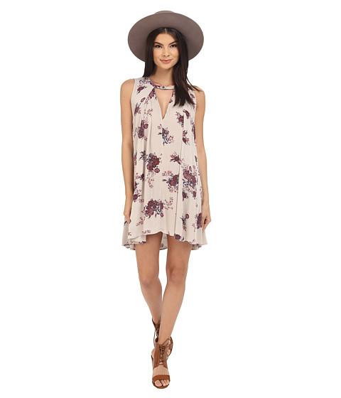 Free People Tree Swing Dress Ashed Stone Combo - Zappos.com Free Shipping BOTH Ways