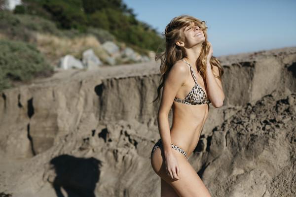 swimwear leopard print leopard bikini bikini briefs mosmann