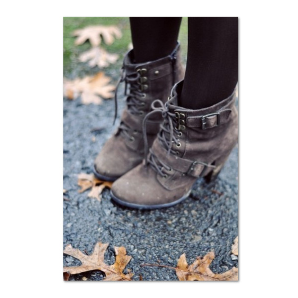 shoes lace up anke boots straps