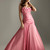 Buy cheap 2012 Vogue A-line Corset Ruffled Applique Strapless Prom Dress  on sale at Weddinggownyes.com