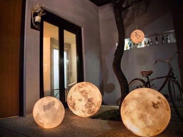 As Seen In Home Accessory Light Moon