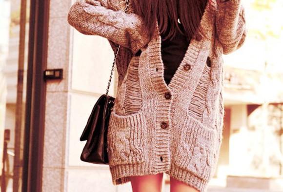 knitwear winter sweater knitted cardigan