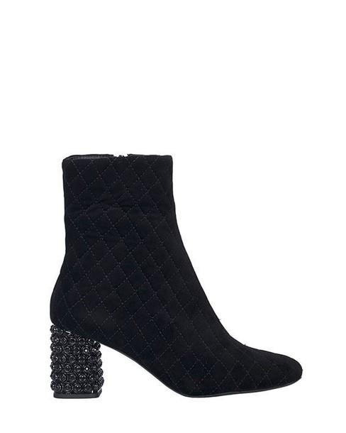 Jeffrey Campbell suede boots suede black shoes