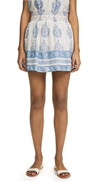 Bell skirt printed skirt
