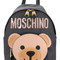 Moschino - toy bear backpack - women - leather - one size, black, leather