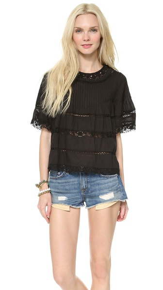 Love Sam Lace Blouse | SHOPBOP