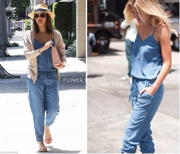 32d631c4fe46 Free shipping hot sale new summer long maxi ladys jeans denim jpg 600x514 Long  summer rompers