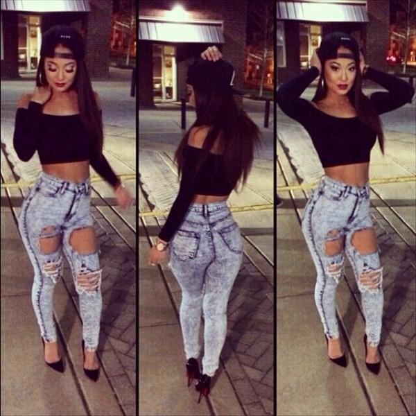 creative pretty black girls outfits 9