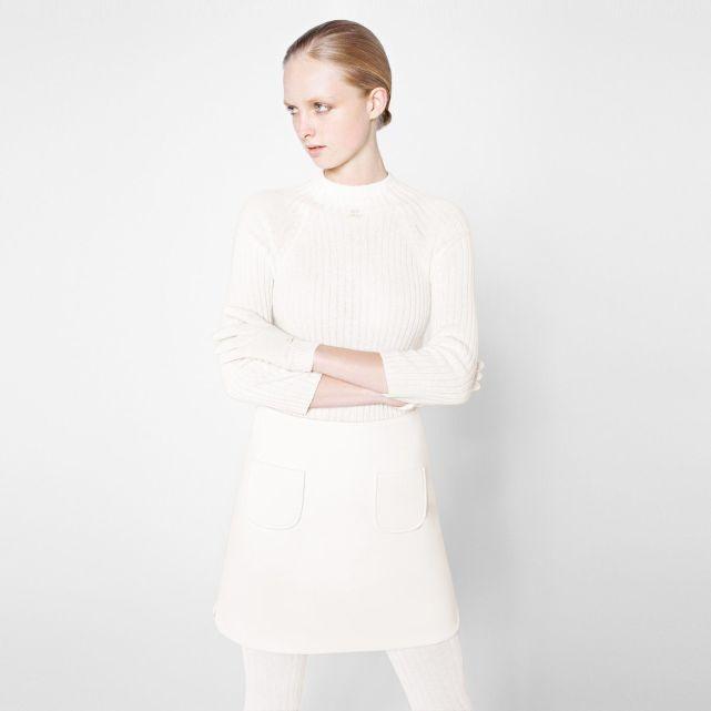 Pull chaussette cachemire, 3 coloris La Redoute X Courreges | La Redoute