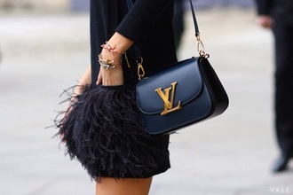 dress fashion feathers streetstyle