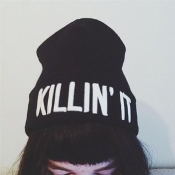 hat beanie killin it for bad hair days hair accessory