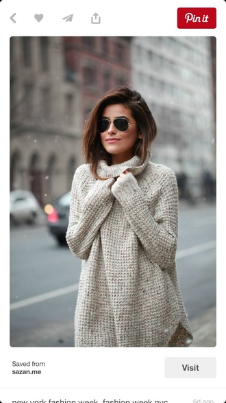 knitted sweater fall sweater turtleneck sweater oversized turtleneck sweater beige sweater off-white sweater