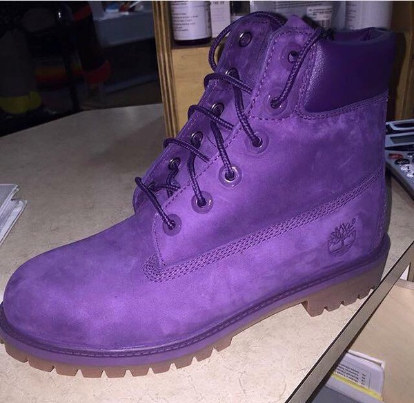Shoes Timberlands Purple Timberlands Boots Wheretoget