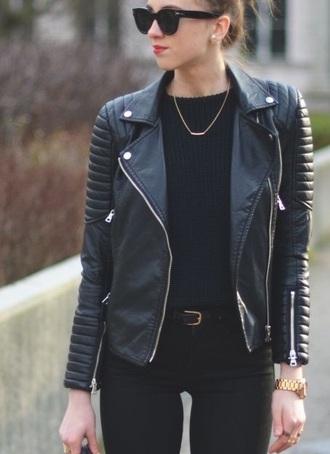 jacket black jacket black leather jacket