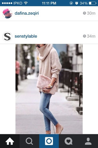 sweater beige sweater