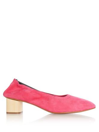 heel suede pumps pumps suede shoes