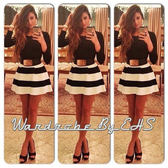 dress summer dress summer outfits clothes stripes