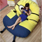 2.3*1.5m despicable me bedding minion sleeping bed/despicable me bed /sleeping bed, hot sale, large gift-in mattress cover from home & garden on aliexpress.com