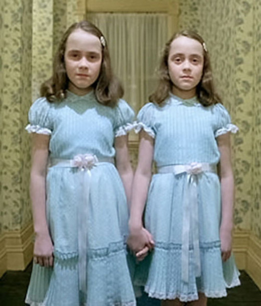 dress the grady twins the shining halloween - The Shining Halloween