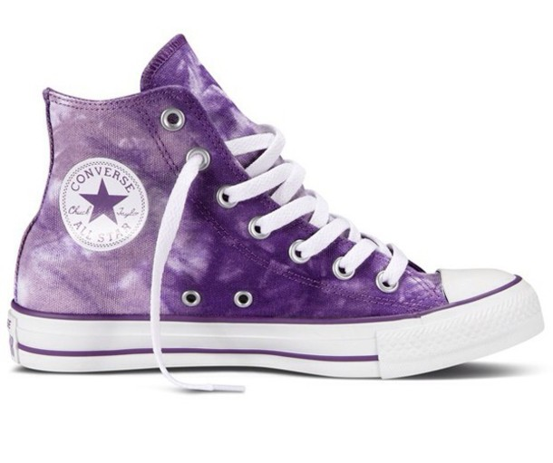 converse shoes purple