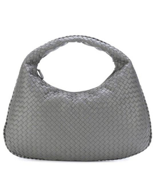 Bottega Veneta leather grey bag