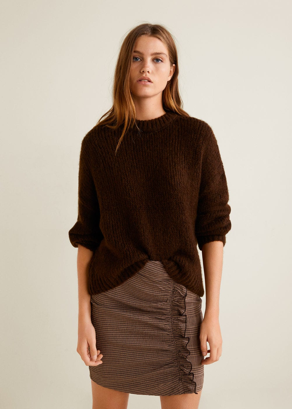 Chunky-knit sweater - Women | MANGO United Kingdom