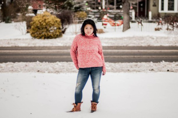 ee4dc9762cf preppypanache blogger sweater jeans shoes