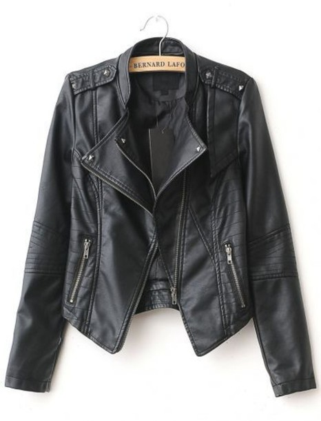 jacket leather jacket leather black black leather biker cute cute jacket black jacket biker jacket black leather jacket fashion style