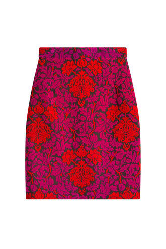 skirt wool multicolor
