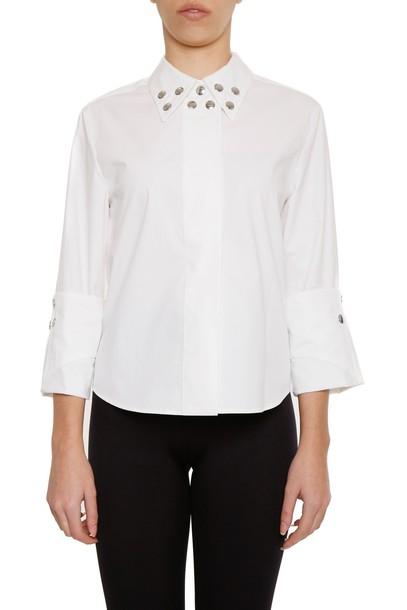 Mm6 Maison Margiela shirt studded top