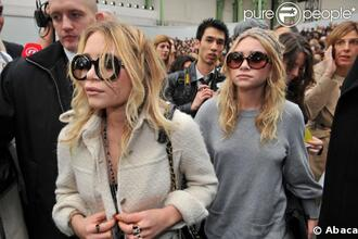 sunglasses girl girly sisters olsen sisters celebrity style