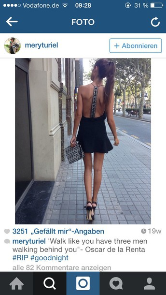 dress black dress black prom dress backless prom dress