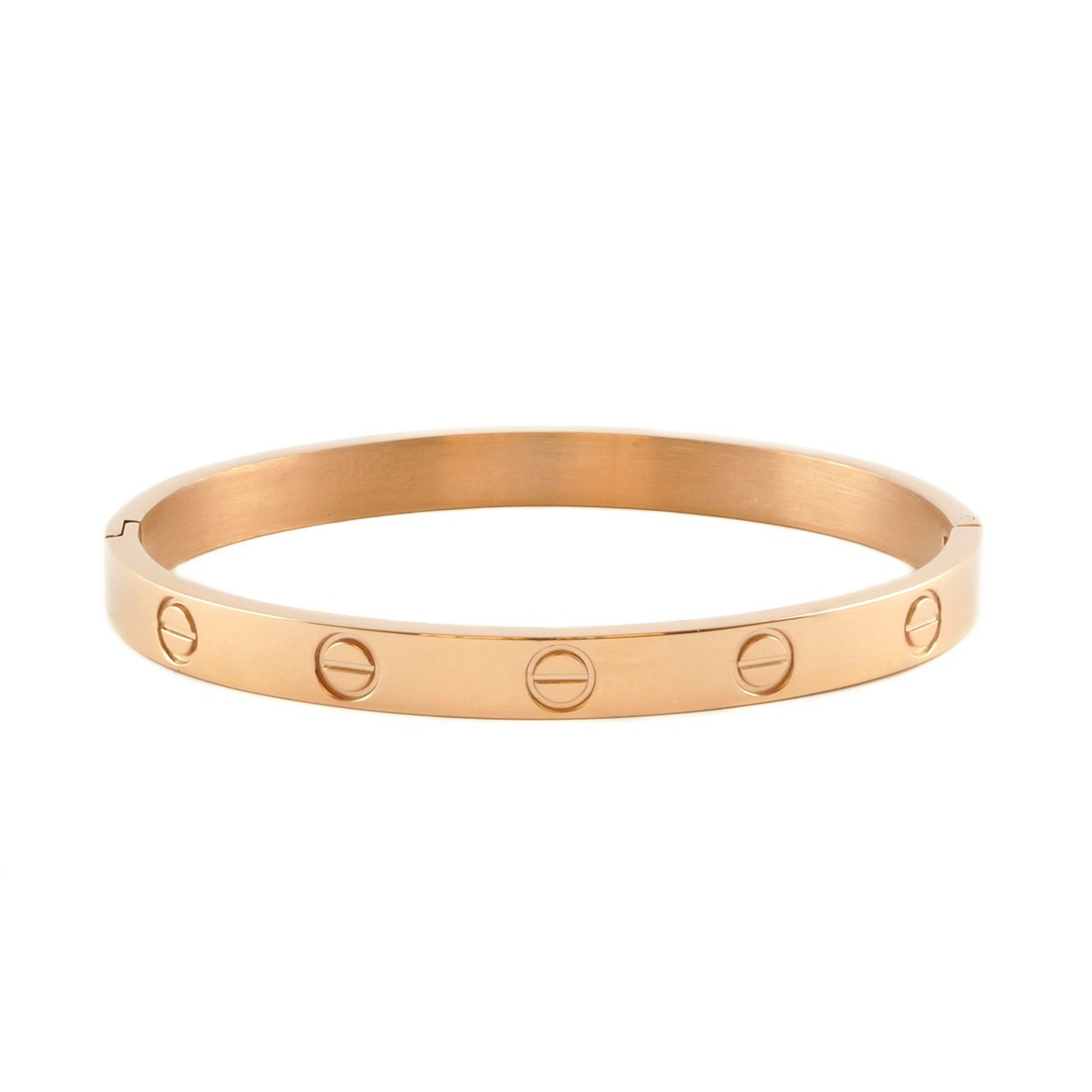 Love Bracelet | gold plated on titanium