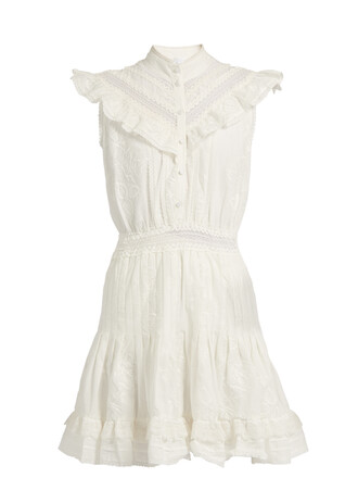 dress lace white