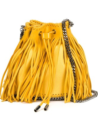 sun bag shoulder bag yellow orange