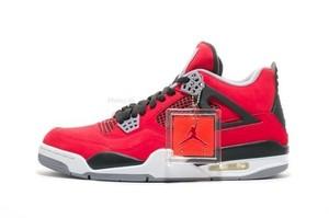 Nike Air Jordan 4 Retro IV Toro Bravo Red Nubuck Suede Raging Bulls DS Size 5 13 | eBay