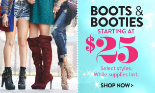 Lace-Up Wooden Heel Bootie: Charlotte Russe