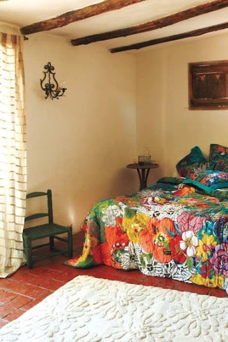 home accessory bedspread bed bedcover bedding mexican aztec duvet
