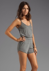 jumpsuit,romper,grey