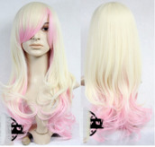 hair accessory,wig,ombre hair