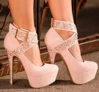 shoes beige formal studs