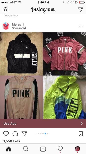 jacket vspink